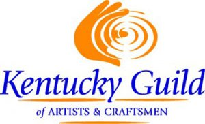 mixed media art Kentucky Guild of Artists and Craftsmen logo