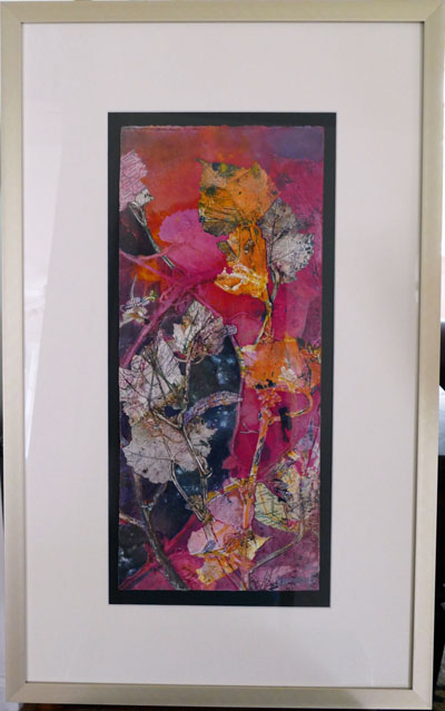 passage between mixed media framed sharmon davidson