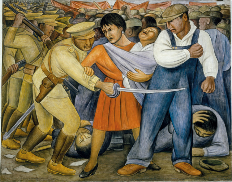 social protest art the uprising mural diego rivera