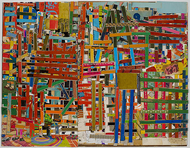collage artists lance letscher a word for you