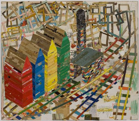 collage artists chair factory lance letscher