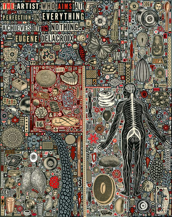 collage artists colin johnson