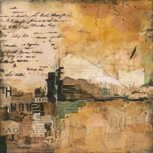 collage artists louise forbush