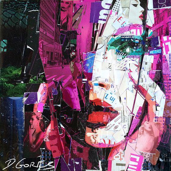 collage artists derek gores ultra violets