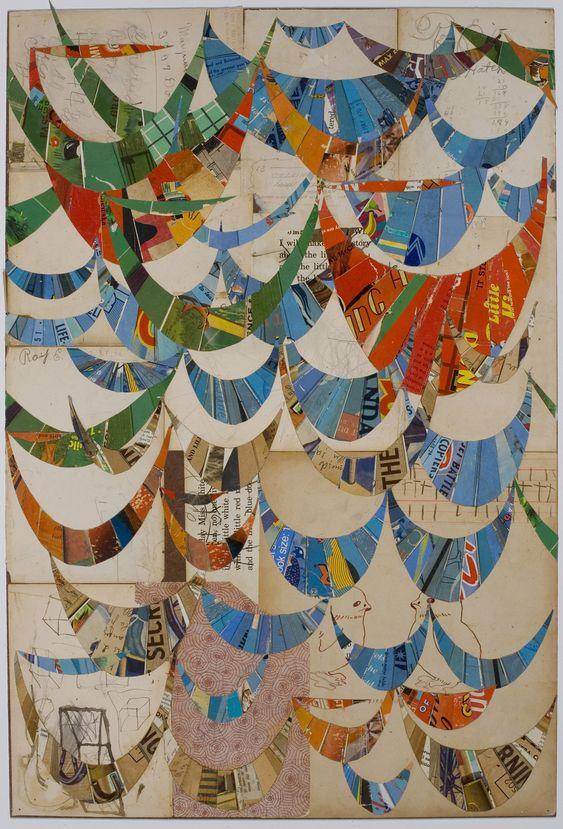 collage artists mrs. white lance letscher