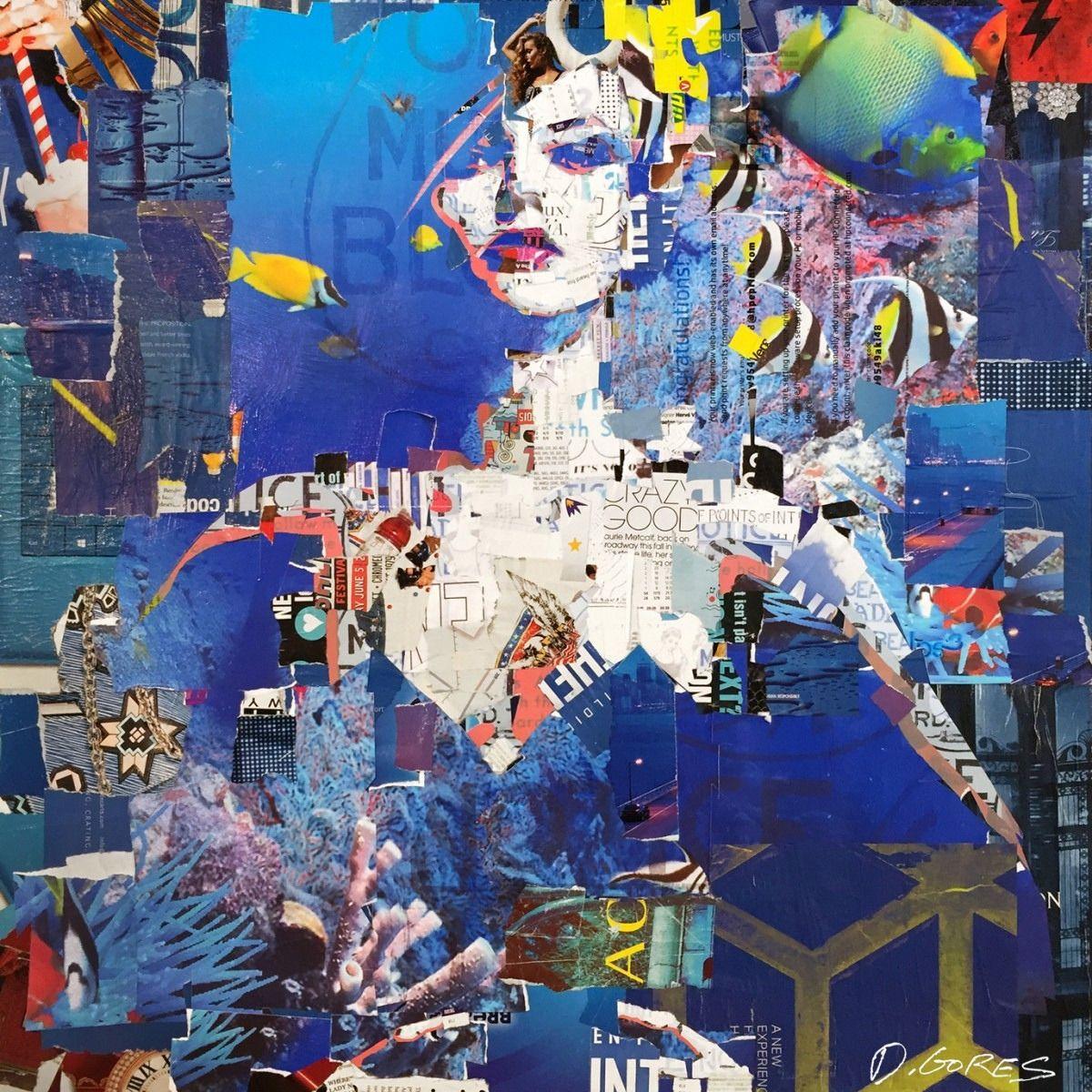 collage artists derek gores