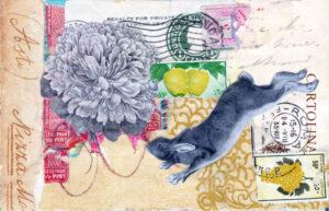 small ephemera collage cartolina postale product image sharmon davidson