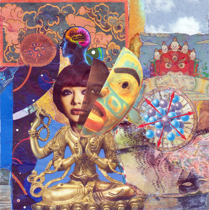 experimental collages she expanded her consciousness to include everything analogue collage sharmon davidson